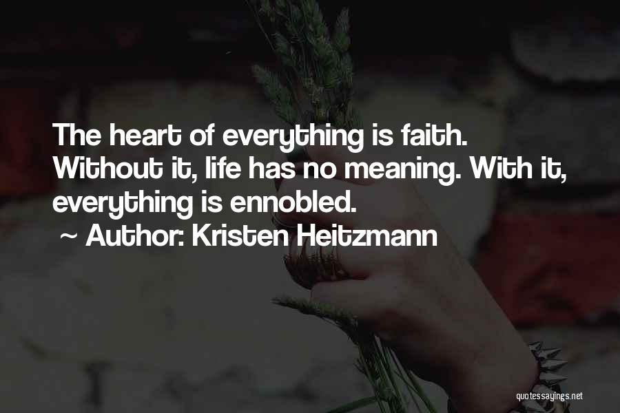 Kristen Heitzmann Quotes 1835714