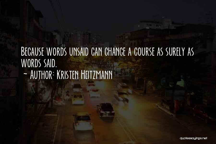 Kristen Heitzmann Quotes 1854640