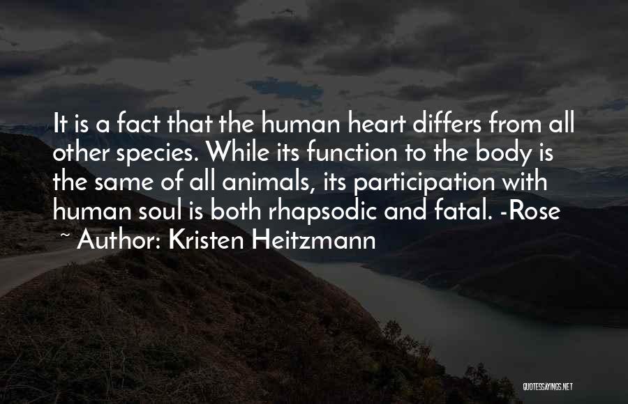 Kristen Heitzmann Quotes 2083032