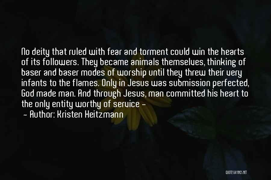 Kristen Heitzmann Quotes 887266