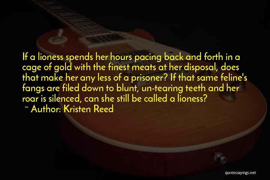 Kristen Reed Quotes 1215447