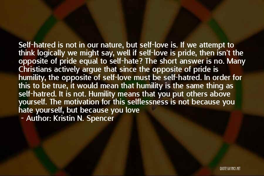 Kristin N. Spencer Quotes 810777