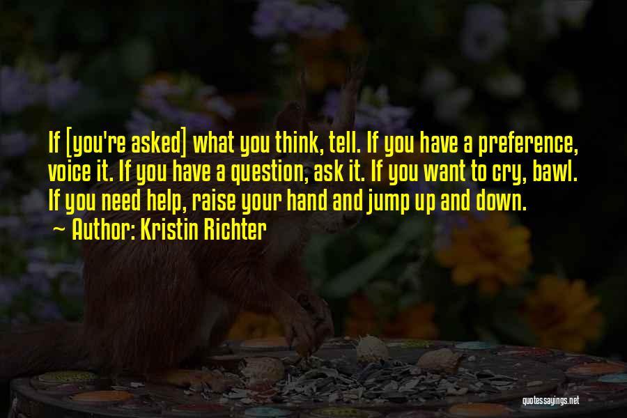 Kristin Richter Quotes 1686843