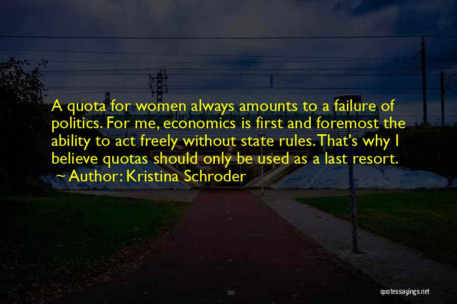 Kristina Schroder Quotes 1514354