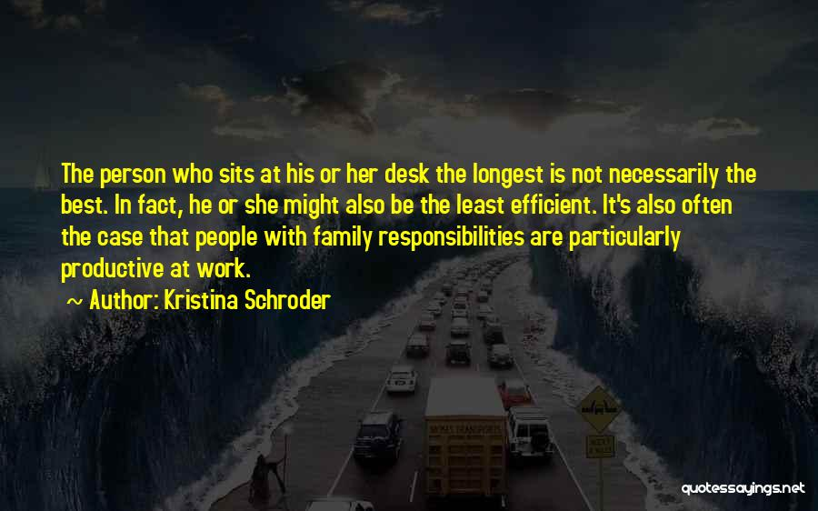 Kristina Schroder Quotes 1564668
