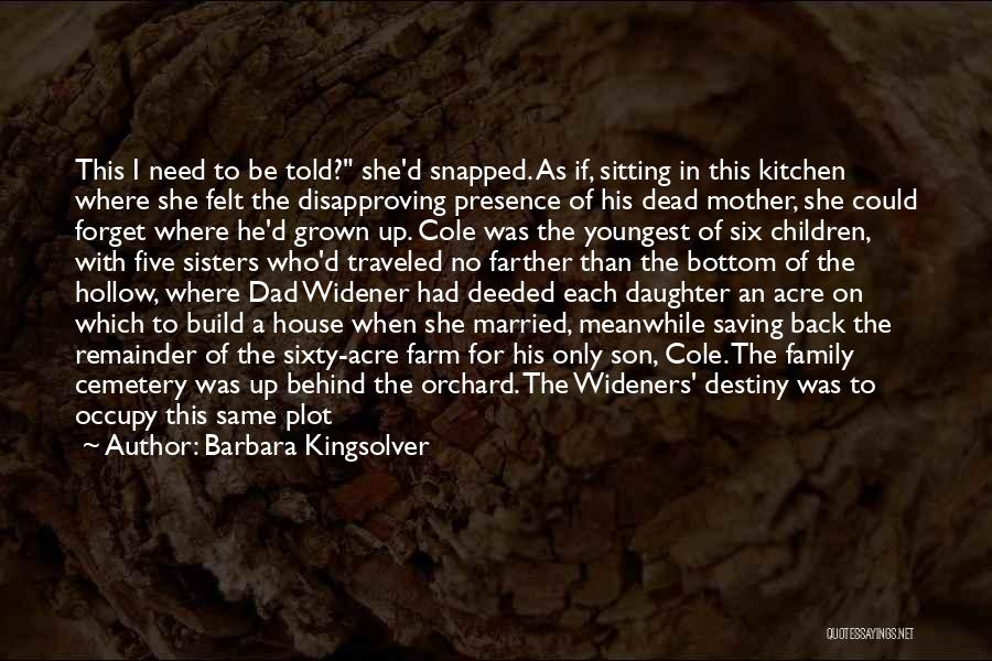 Kroger Quotes By Barbara Kingsolver