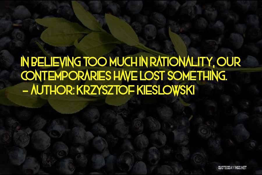 Krzysztof Kieslowski Quotes 1276363