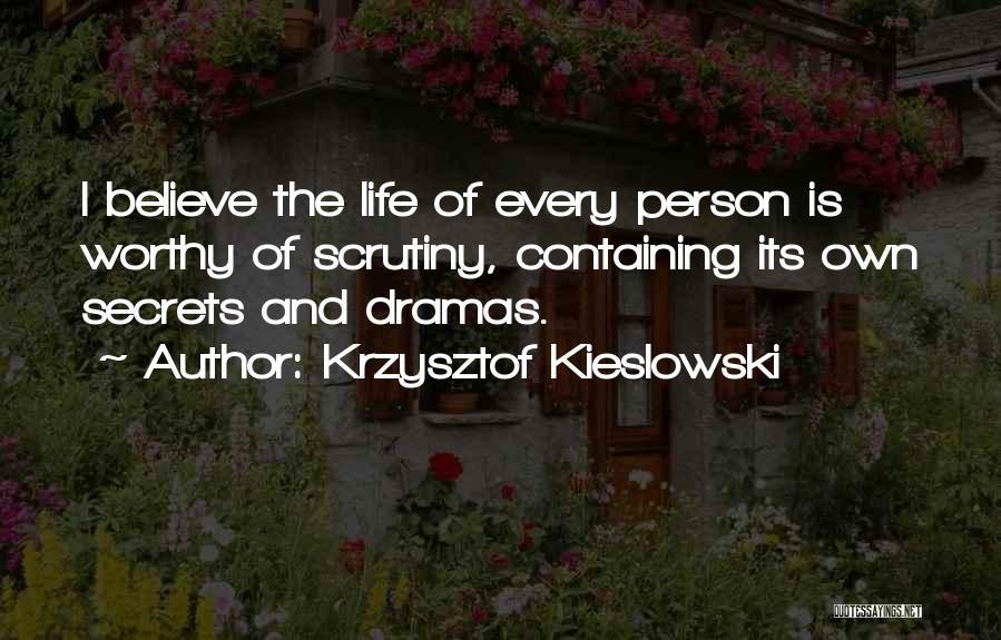 Krzysztof Kieslowski Quotes 131874