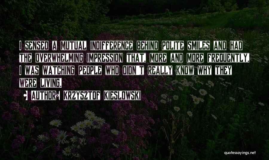 Krzysztof Kieslowski Quotes 1843294
