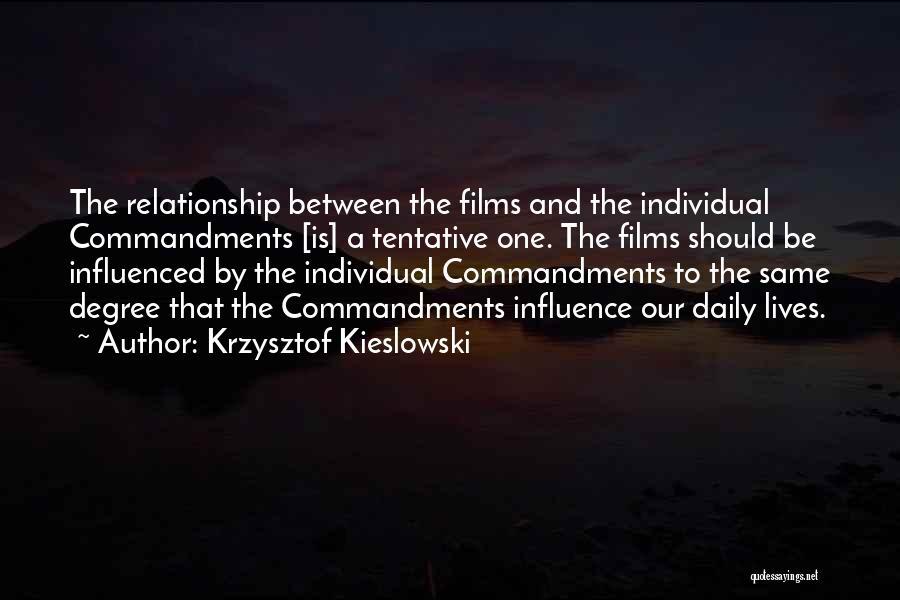 Krzysztof Kieslowski Quotes 1935422