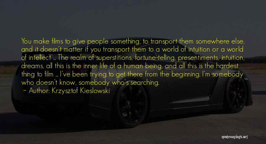 Krzysztof Kieslowski Quotes 202363