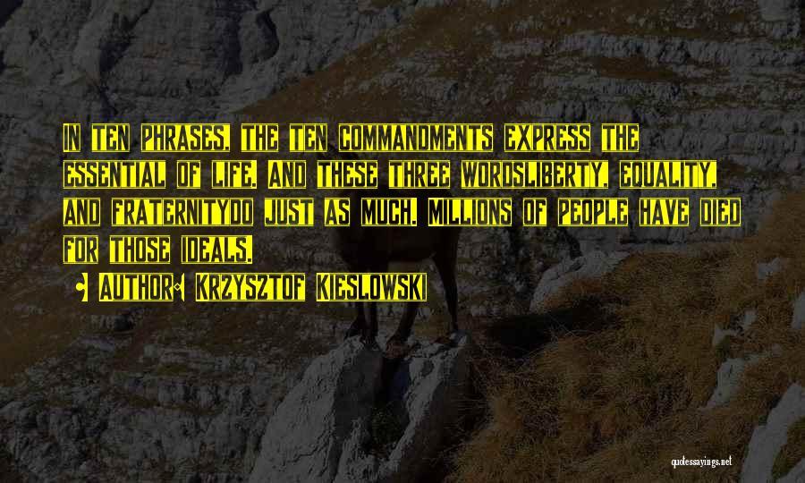 Krzysztof Kieslowski Quotes 2104389