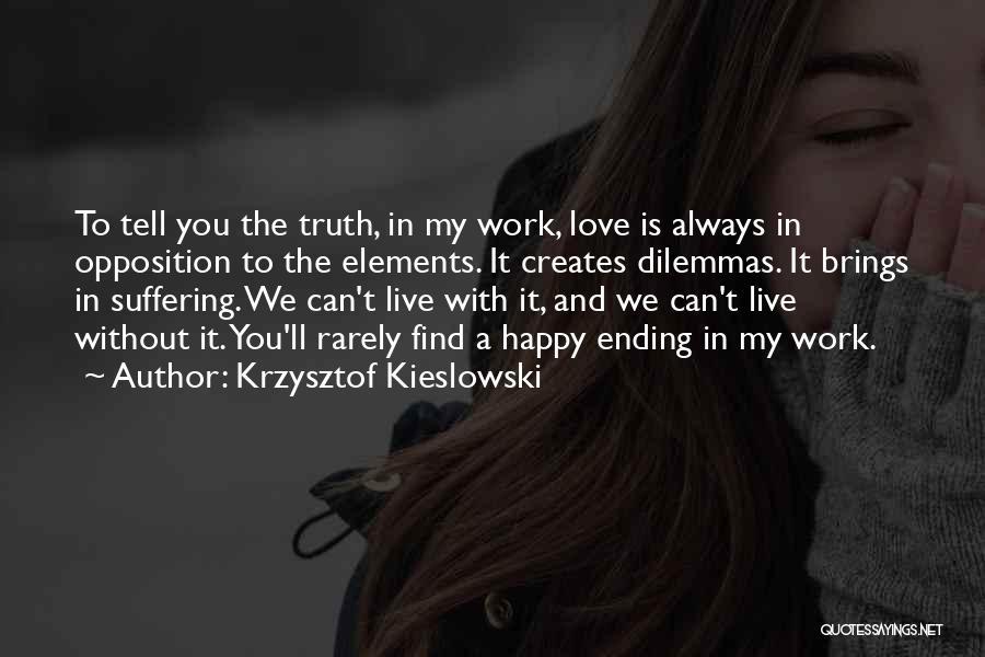 Krzysztof Kieslowski Quotes 247268