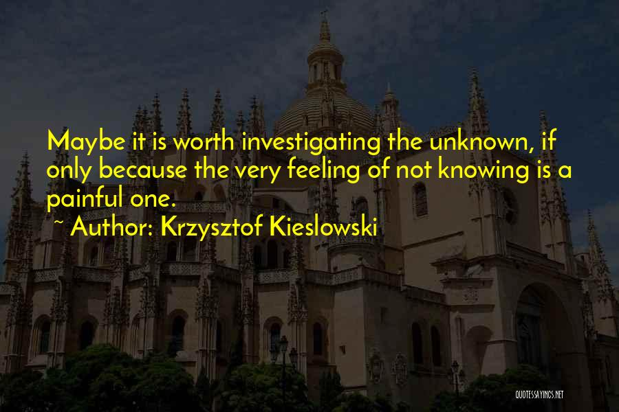 Krzysztof Kieslowski Quotes 942945