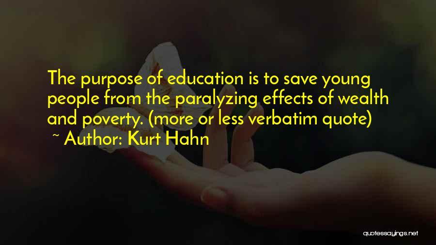 Kurt Hahn Quotes 2000288