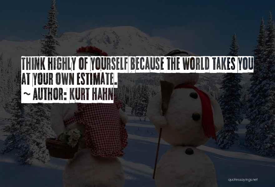 Kurt Hahn Quotes 504461