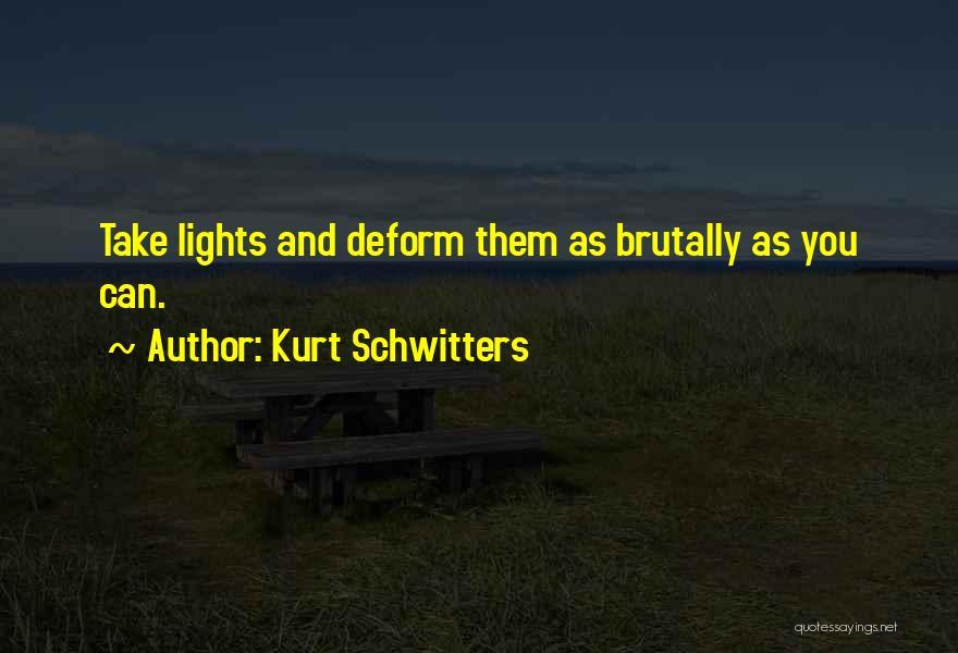 Kurt Schwitters Quotes 675278