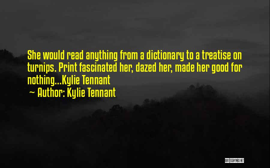 Kylie Tennant Quotes 168267