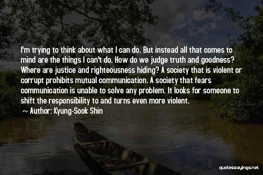 Kyung-Sook Shin Quotes 1150796