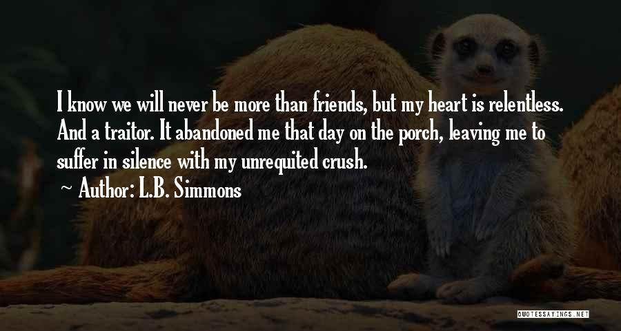 L.B. Simmons Quotes 1515200