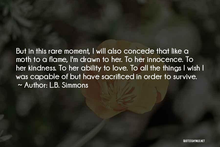 L.B. Simmons Quotes 1681072