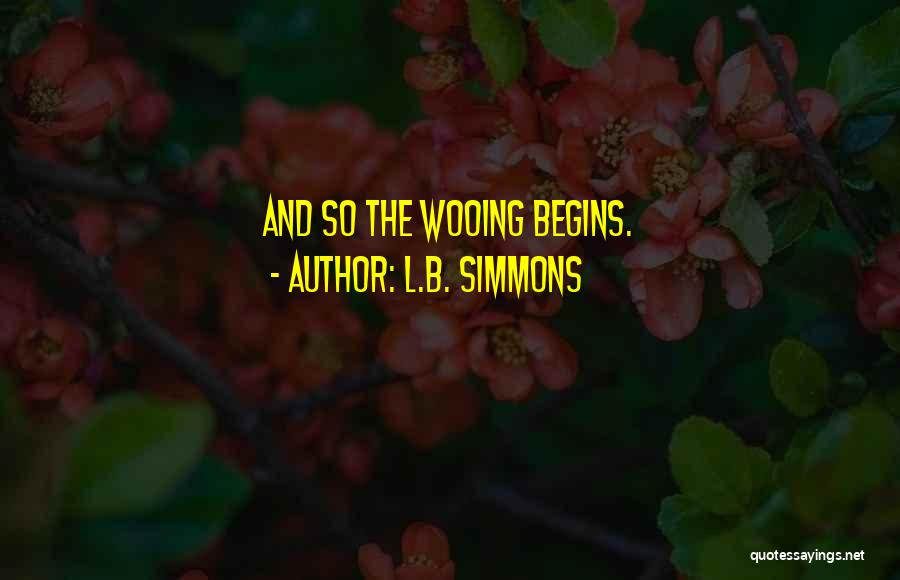 L.B. Simmons Quotes 1723813