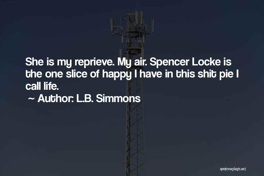 L.B. Simmons Quotes 2139932