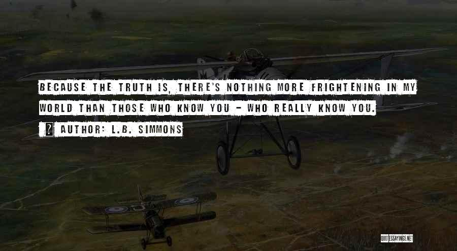 L.B. Simmons Quotes 319942