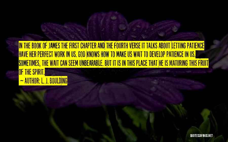 L. J. Boulding Quotes 1844960