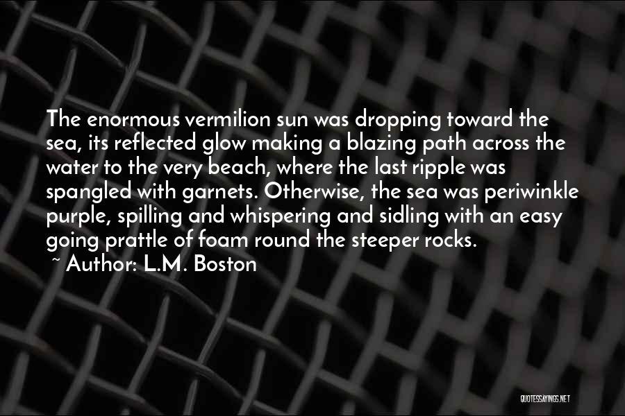L.M. Boston Quotes 1062838