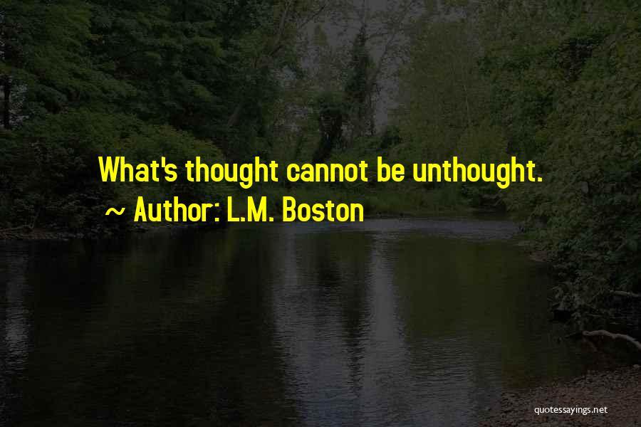 L.M. Boston Quotes 1865297