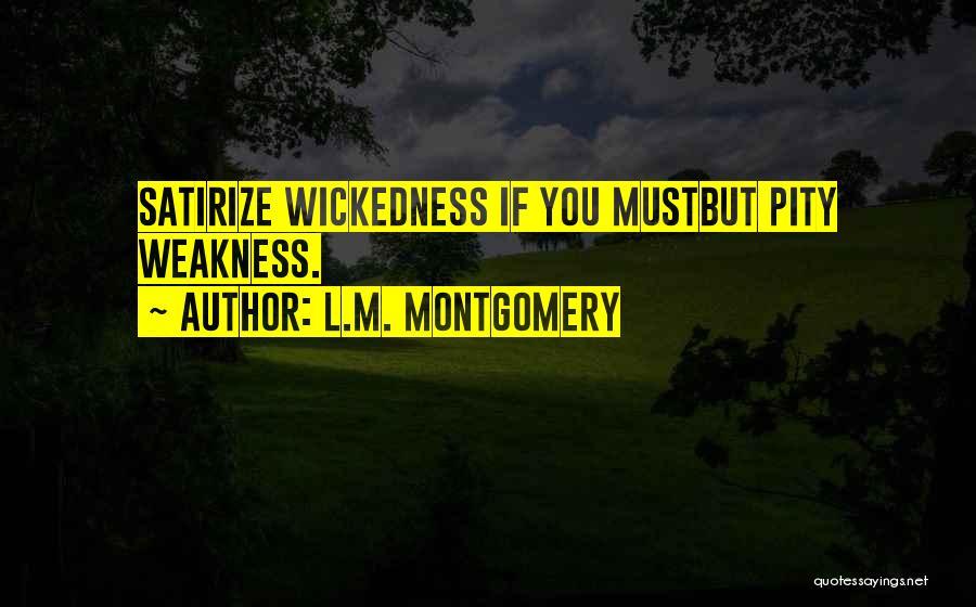 L.M. Montgomery Quotes 1085099