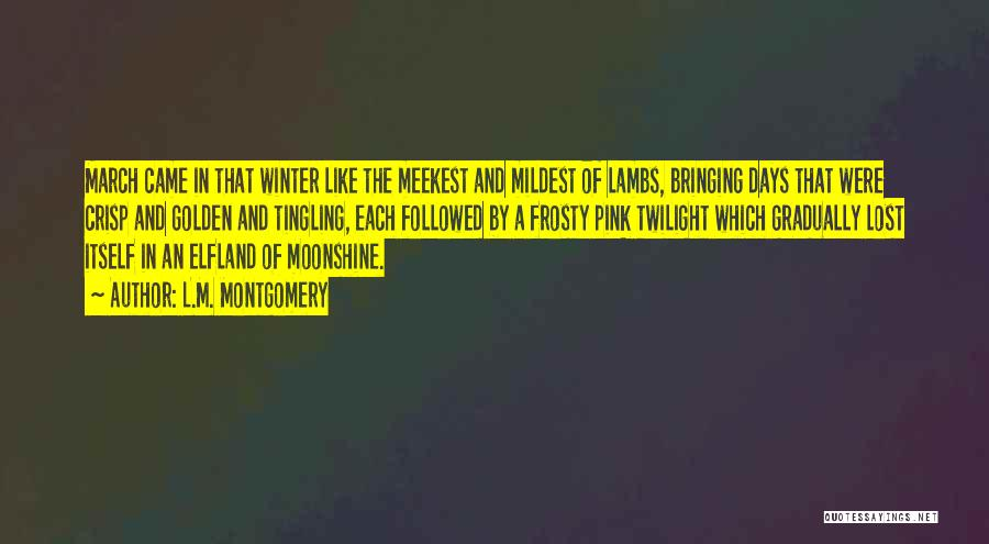 L.M. Montgomery Quotes 1251281
