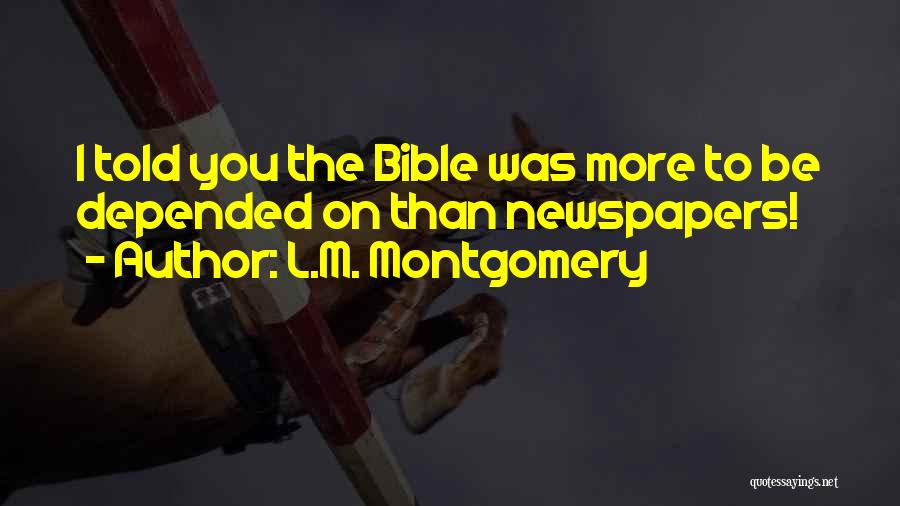 L.M. Montgomery Quotes 1485563