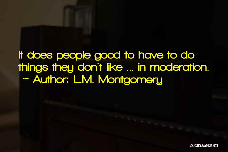 L.M. Montgomery Quotes 1622861