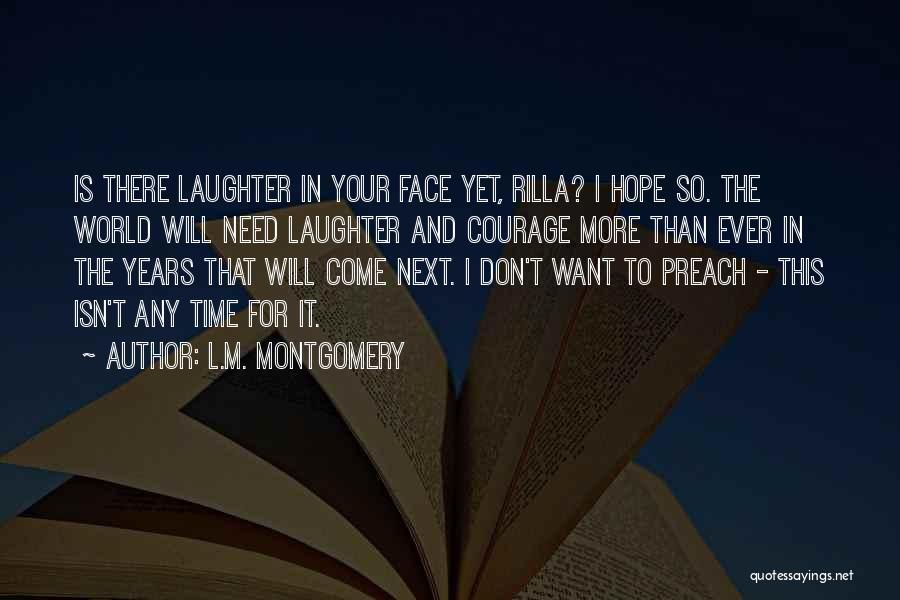 L.M. Montgomery Quotes 1679116