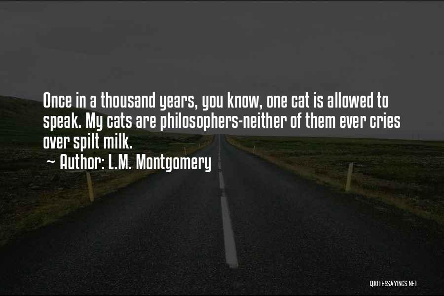 L.M. Montgomery Quotes 1711150