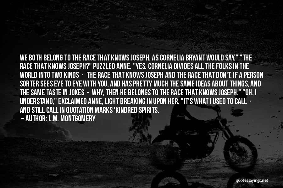 L.M. Montgomery Quotes 1903558