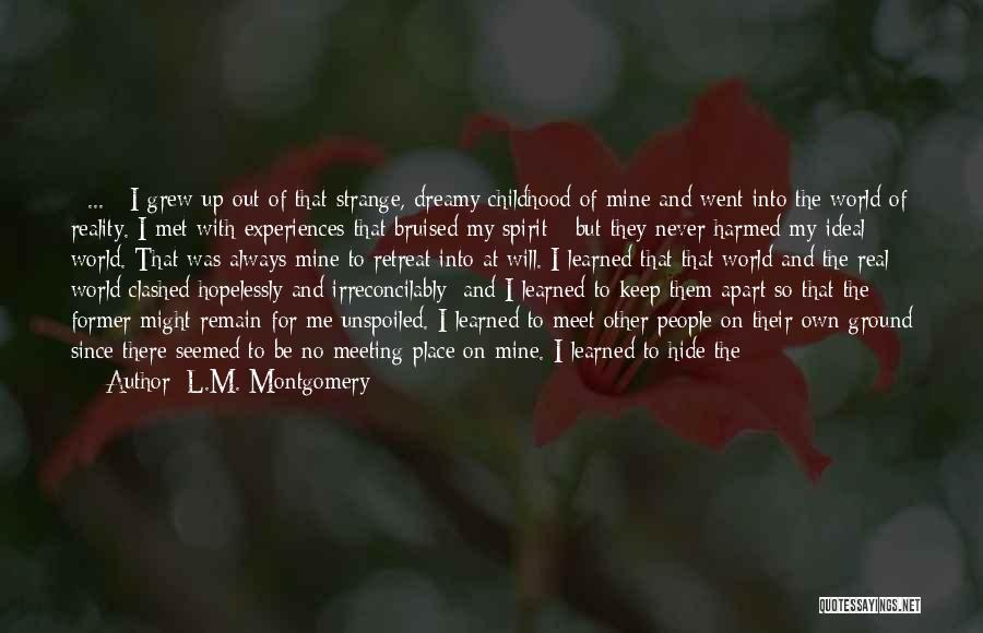 L.M. Montgomery Quotes 1913486
