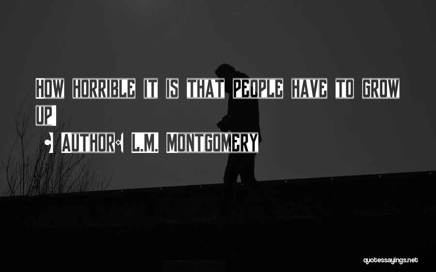 L.M. Montgomery Quotes 193572