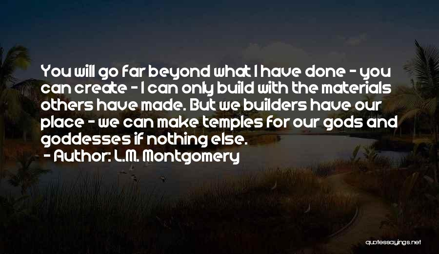 L.M. Montgomery Quotes 2032210