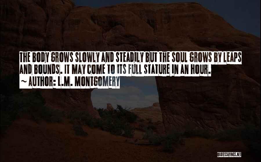 L.M. Montgomery Quotes 246730