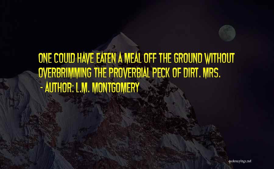 L.M. Montgomery Quotes 320915