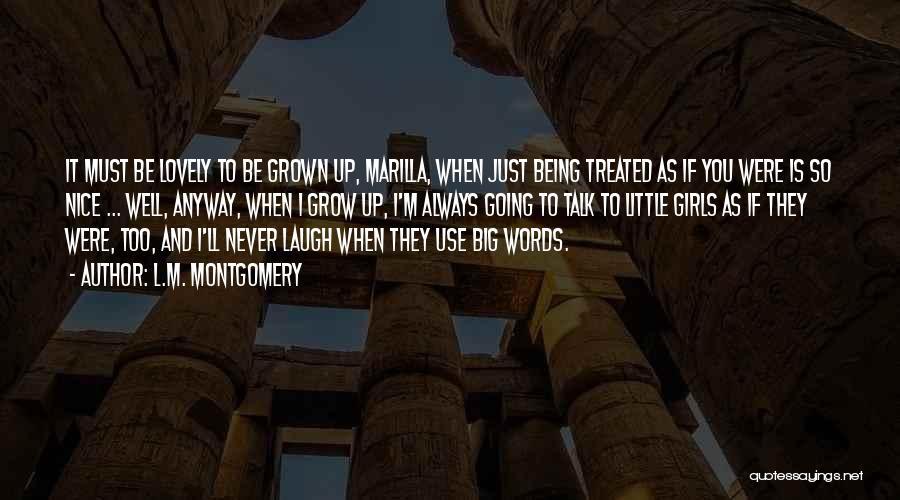 L.M. Montgomery Quotes 487942