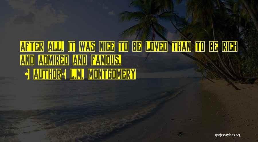 L.M. Montgomery Quotes 544303