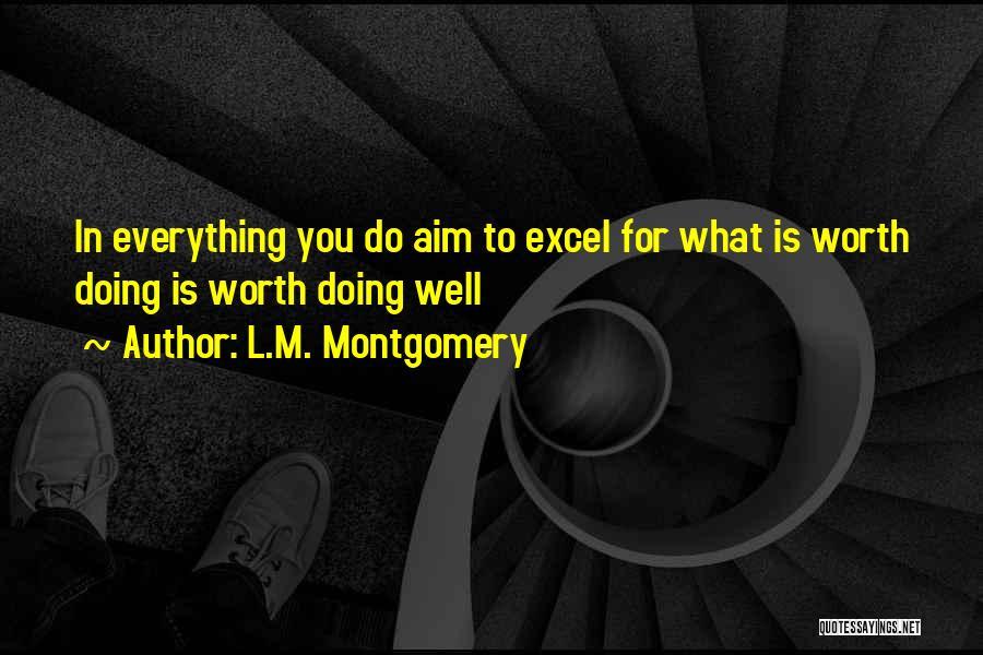 L.M. Montgomery Quotes 573101