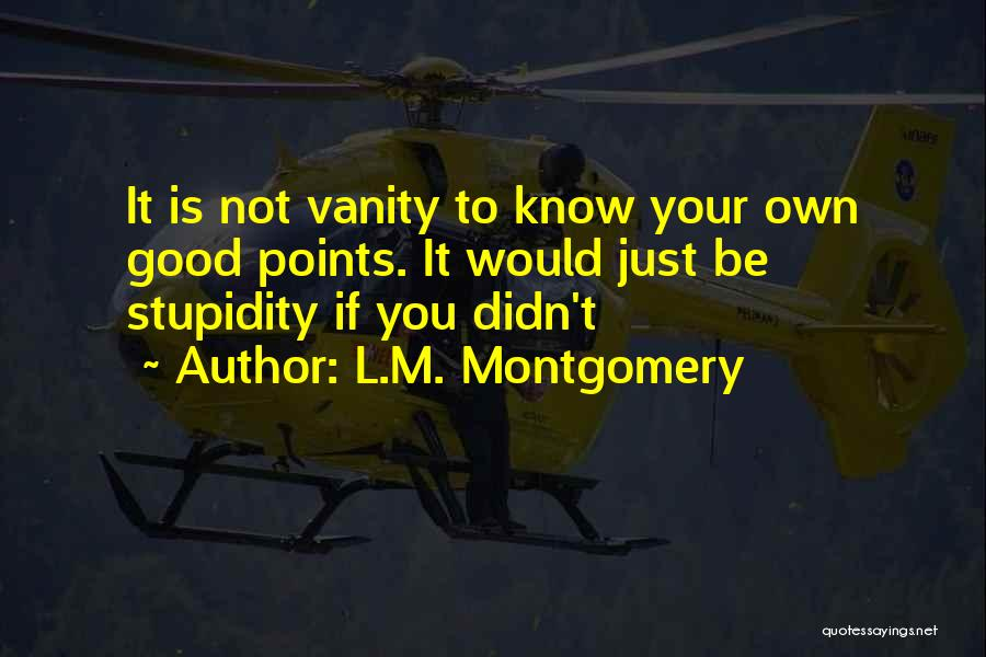 L.M. Montgomery Quotes 592951