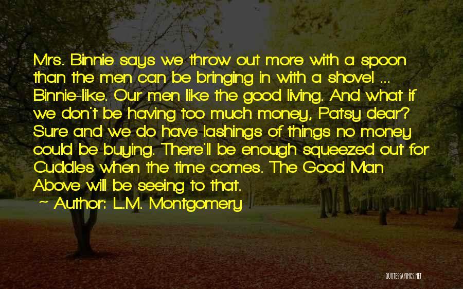 L.M. Montgomery Quotes 682861