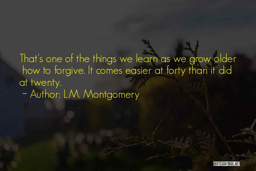 L.M. Montgomery Quotes 76581