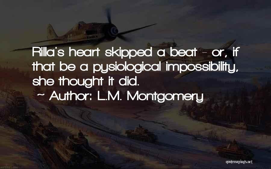 L.M. Montgomery Quotes 873248